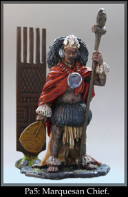 Maquesan Chief figure