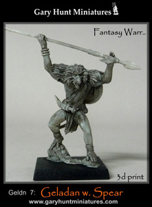 Geladan Warrior w. spear