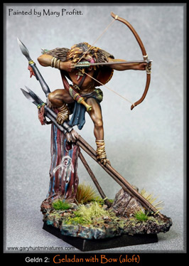Geladan warrior w. Bow (aloft)