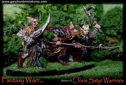 Beastman Satyr warriors