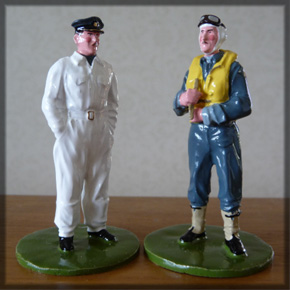 WW2 Sir Keith Painted traditional painted toy solder set.